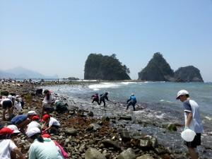 せばまから見る三四郎島