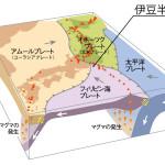 伊豆半島ジオパーク(プレート)