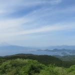 達磨山から望む
