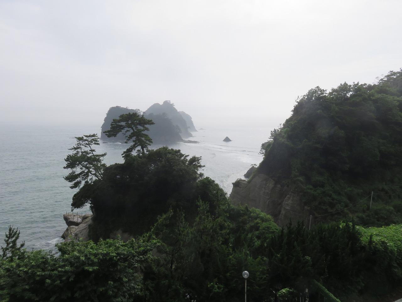 雨の堂ヶ島1
