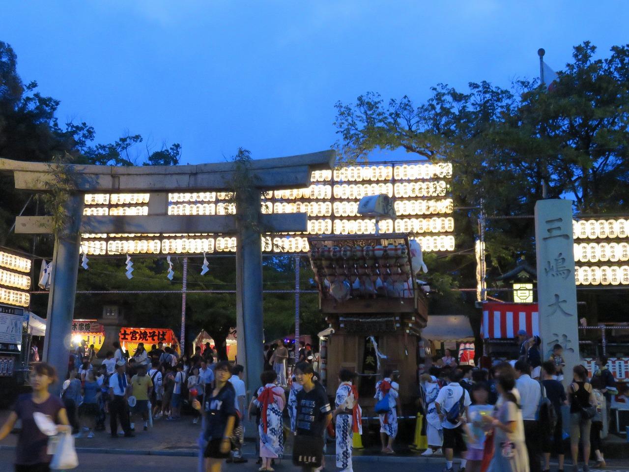 三嶋大社夏祭り7