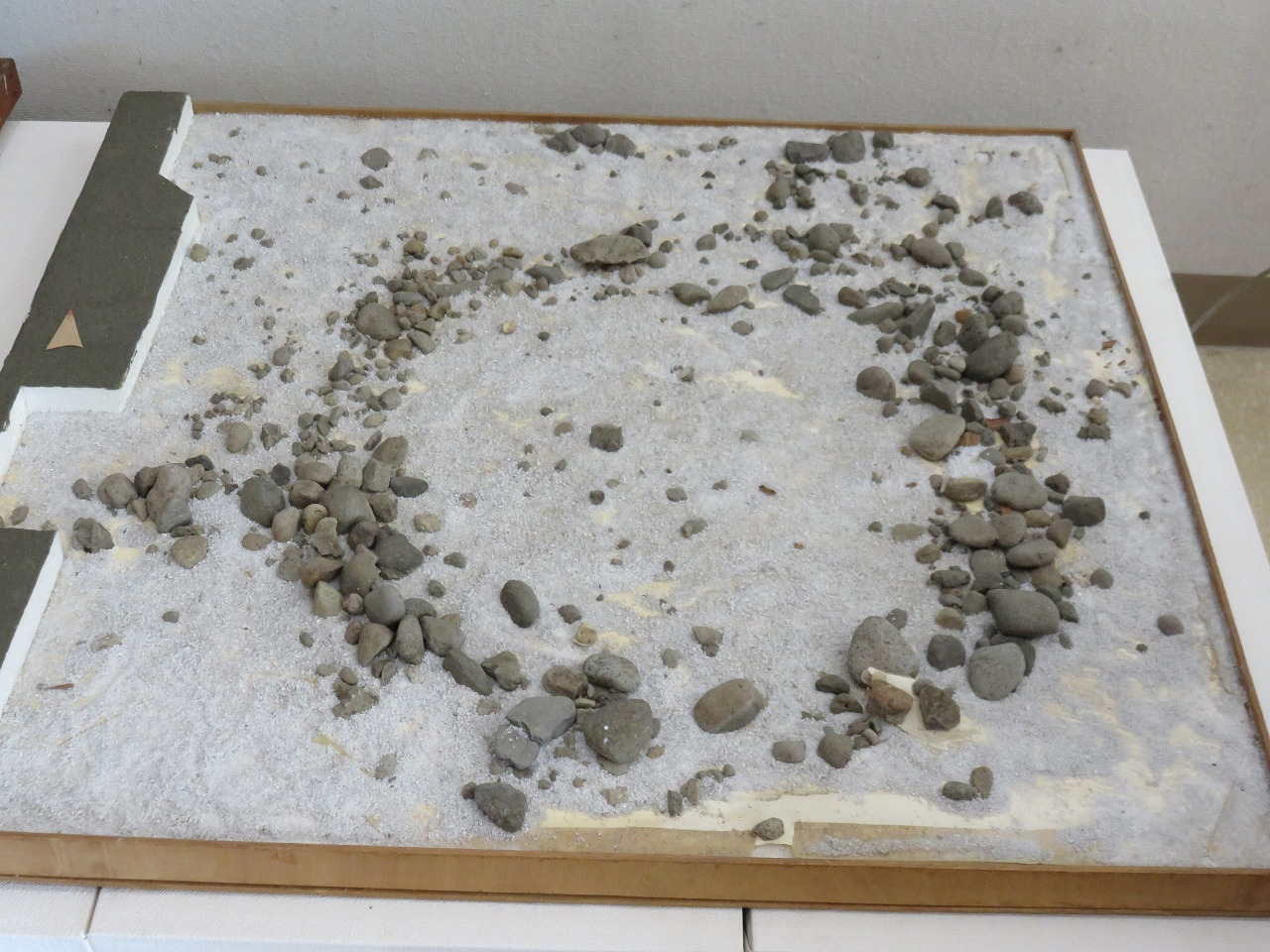 環状列石の模型