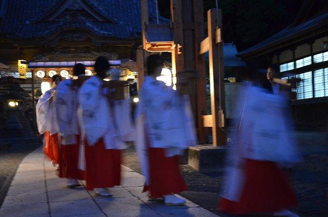 火達祭10月白浜神社