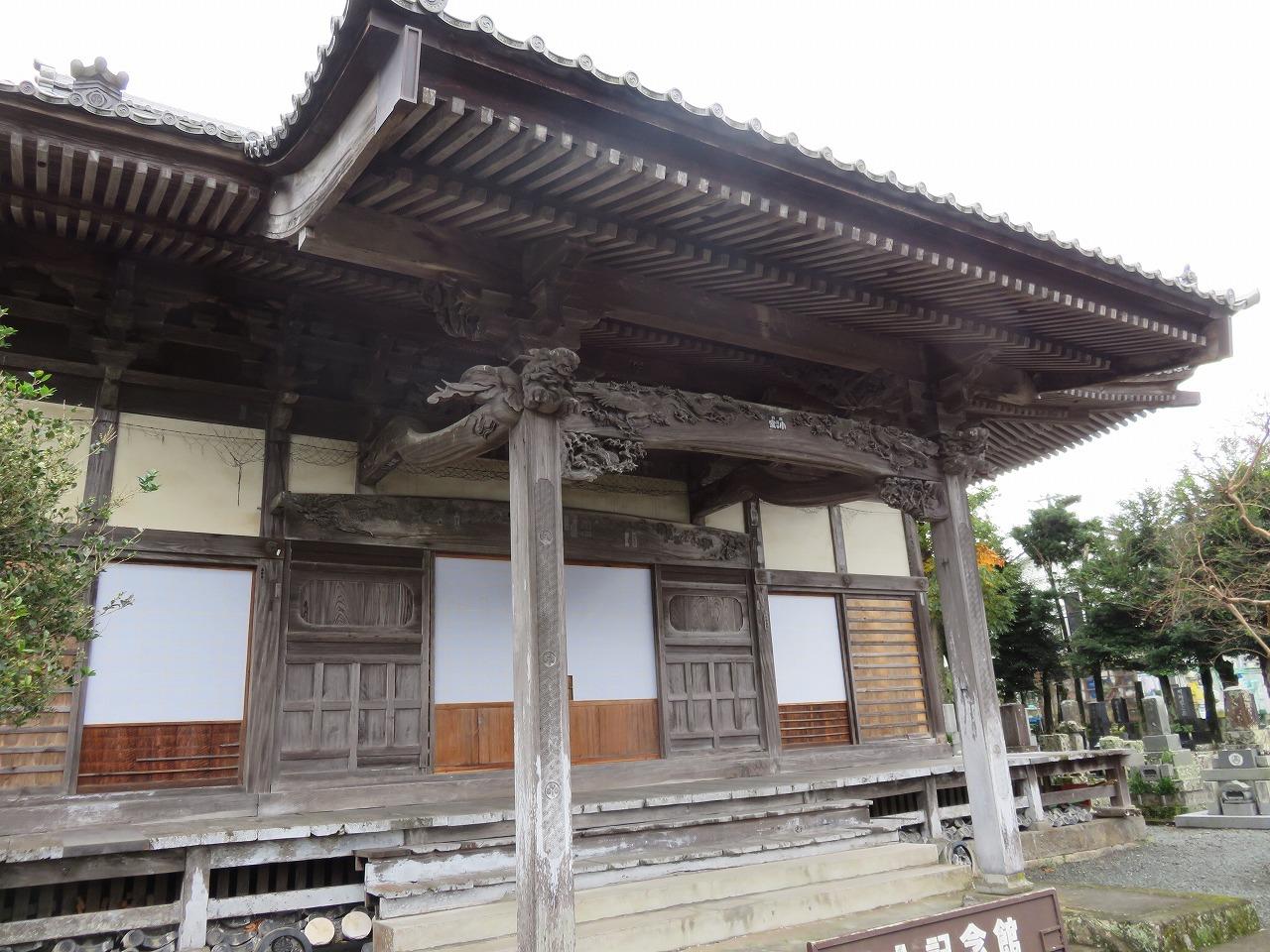 浄感寺の彫刻