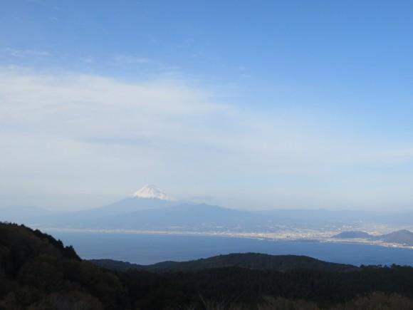 達磨山より