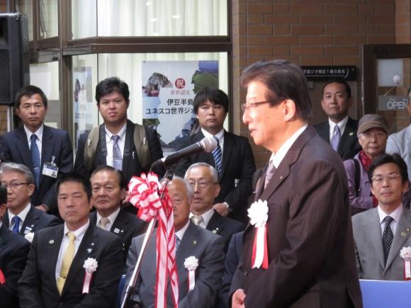 川勝県知事