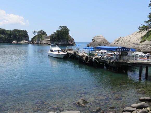 堂ヶ島マリン桟橋